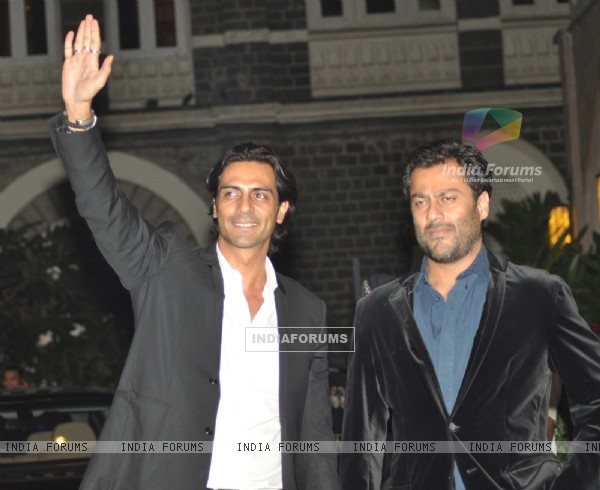 Arjun Rampal grace Tom Cruise welcome party at Taj Mahal Hotel, colaba