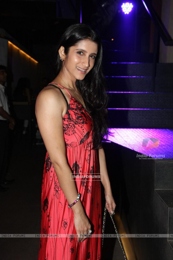 Smily Suri at designer Simone Khambatta's new collection launch in Mumbai