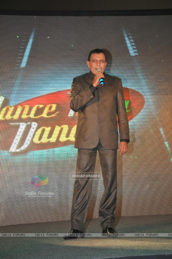 Mithun Chakraborty at launch of Dance India Dance Season 3 at Hotel JW Marriott in Juhu, Mumbai
