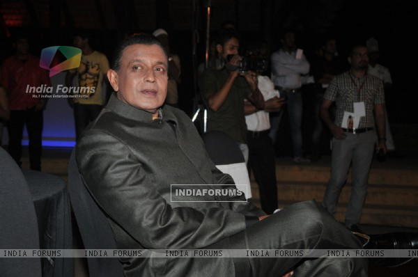 Mithun Chakraborty at the launch of Dance India Dance Season 3 at Hotel JW Marriott in Juhu, Mumbai