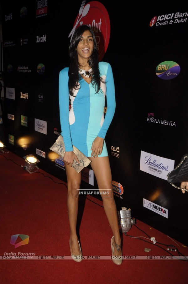 Anushka Manchanda at Time Out Food Awards event at Hotel Taj Lands End