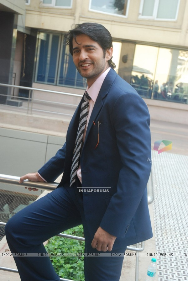 Hiten Tejwani at Press conference of 'Pavitra Rishta' serial new cast introduction at Novotel, Mumba