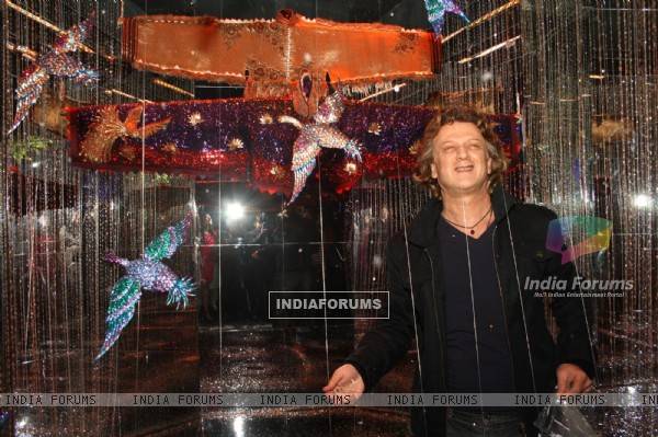 Designer Rohit Bal at the Swarovski's 10 th years celebrations at Austrian Embassy, in New Delhi