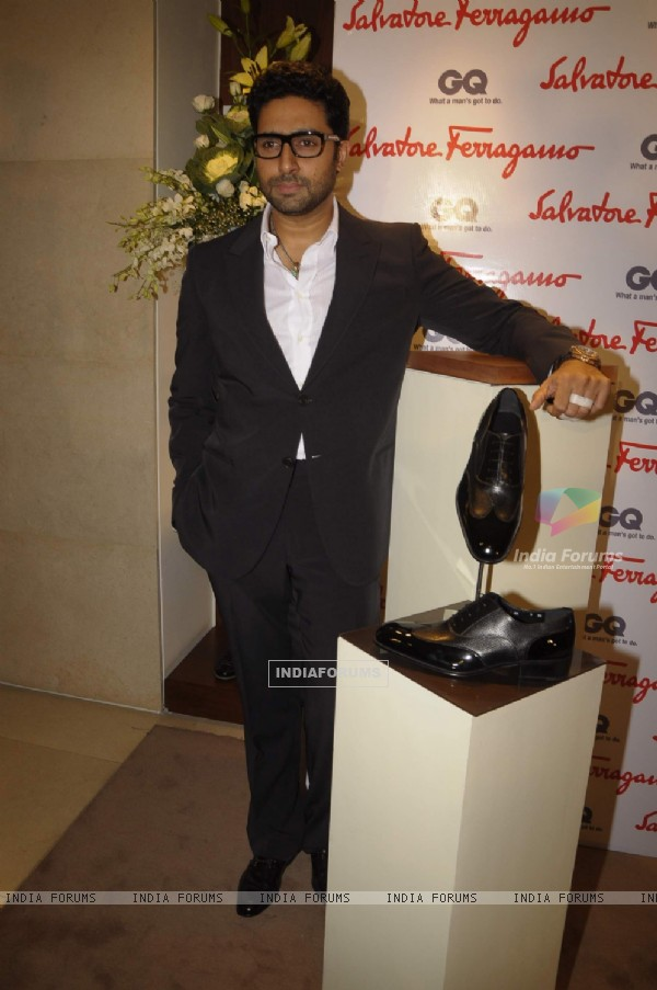 Abhishek Bachchan at Salvatore Ferragamo event in Mumbai