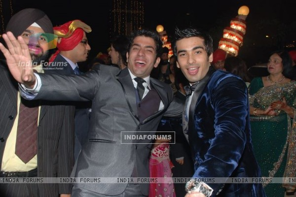 Mohit Sehgal in a wedding