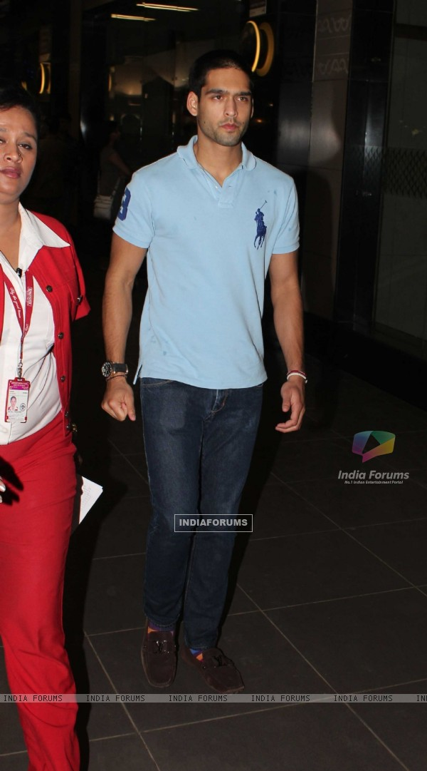 Siddharth Mallya snapped at Mumbai International Airport