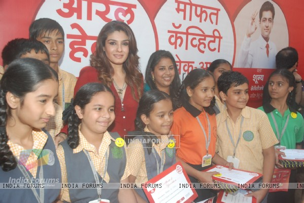 Raveena Tandon at Colgate Dental Event