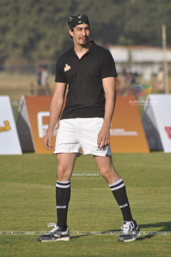 Celebs at Kingfisher Rugby match in Bombay Gymkhana