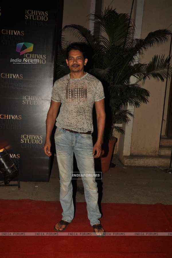 Atul Kulkarni at 'The Chivas Studio 2011' organized Luxury, Cinema, Art & Music event