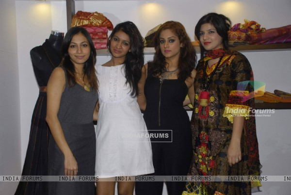 New fashion store Ashtar by designers Saba Khan, Aaliya Khan and Neha Khanna at Mahalaxmi