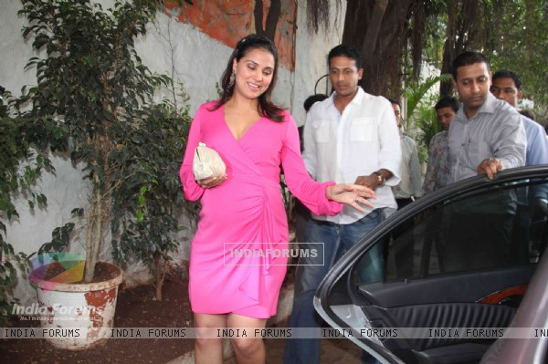 Lara Dutta Baby Shower in Mumbai