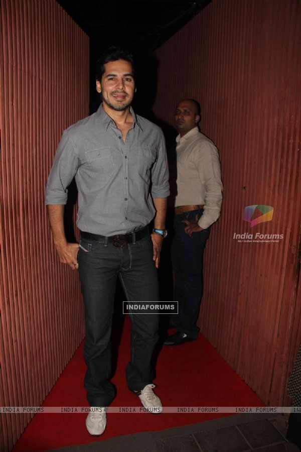 Dino Morea at The Dirty Picture success party