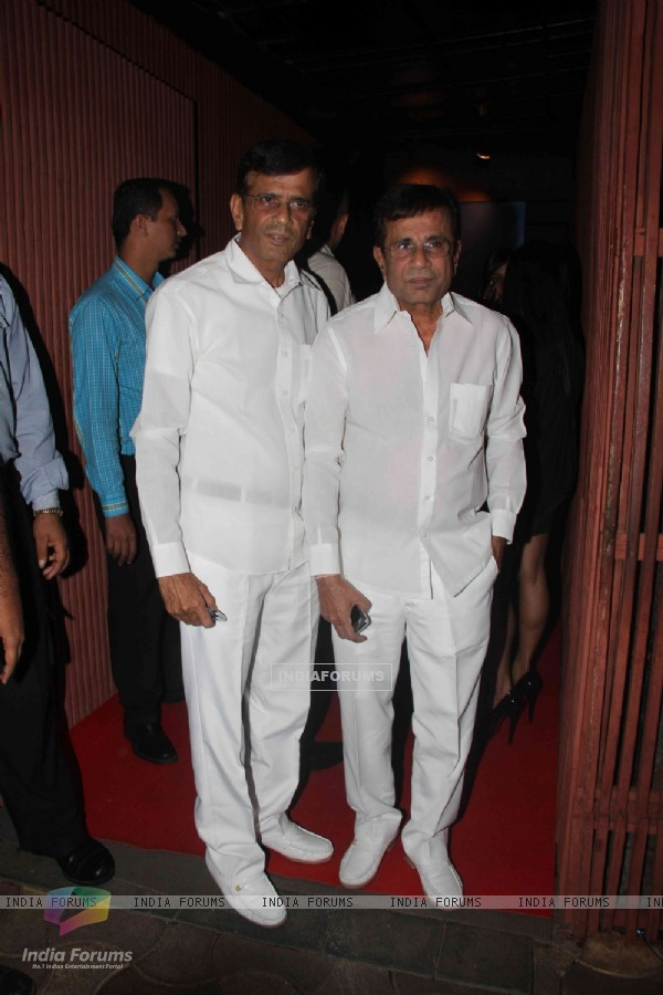 Abbas and Mustan Burmawalla at The Dirty Picture success party