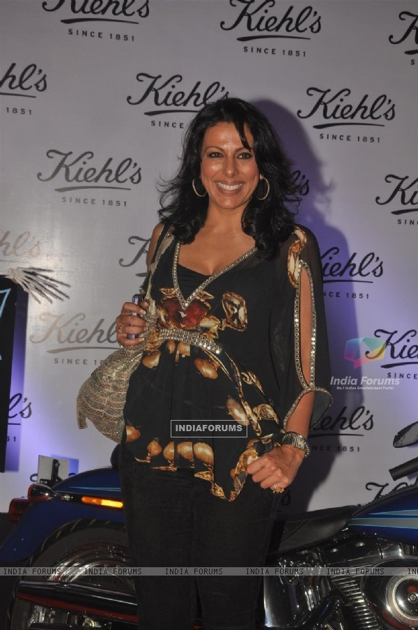 Pooja Bedi at launch of Kielhs India at Mehboob Studio in Mumbai