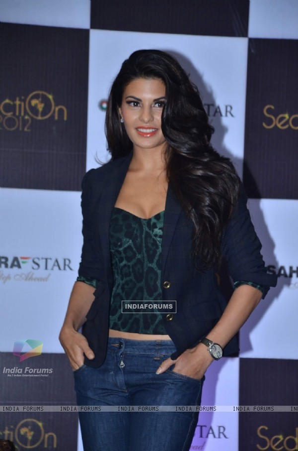 Jacqueline at Sahara Star Seduction press meet at Sahara Star