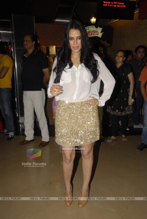 Neha Dhupia at Pappu Cant Dance Sala premiere