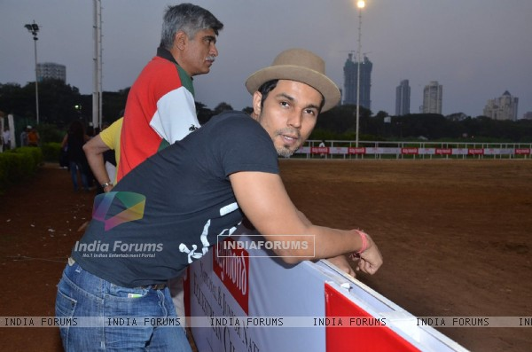 Randeep Hooda at Raymonds Amateur Riders Club event