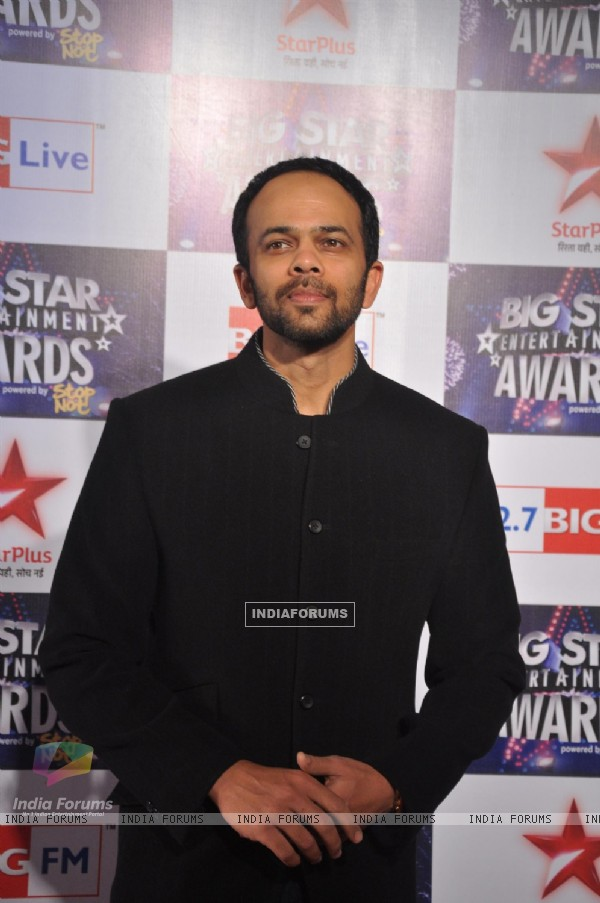 Rohit Shetty at Big Star Entertainment Awards at Bhavans Ground in Andheri, Mumbai