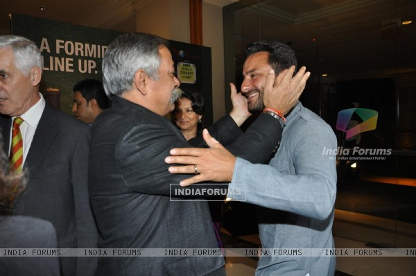 Saif Ali Khan at the 2nd edition of the RSD World Cricket Summit in Mumbai