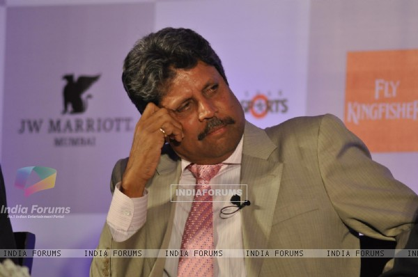 Kapil Dev at the 2nd edition of the RSD World Cricket Summit in Mumbai