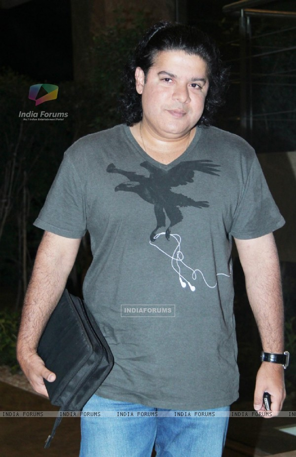 Sajid Khan at Farah Khan's House Warming Party
