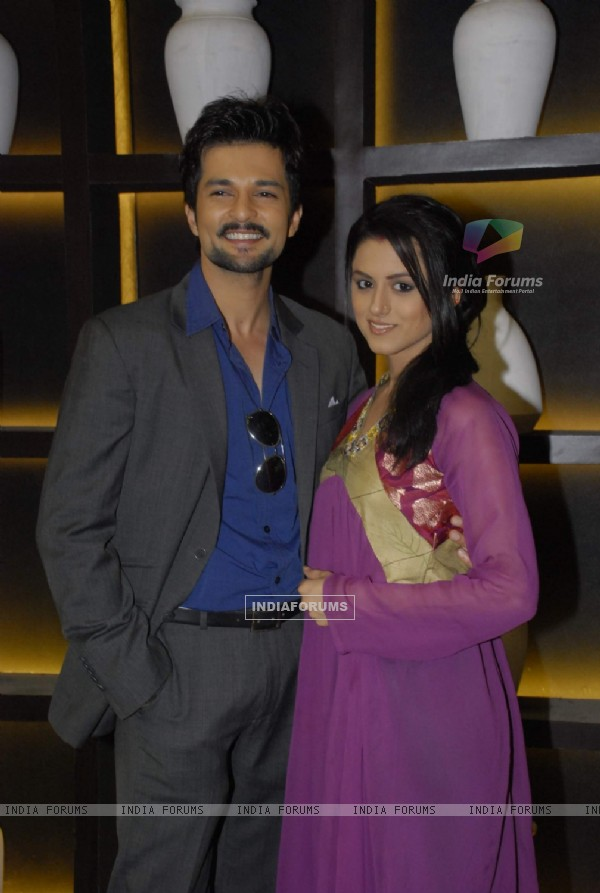 RaQesh and Riddhi Dogra Vashisth on the sets of Master Chef India 2 at RK Studios