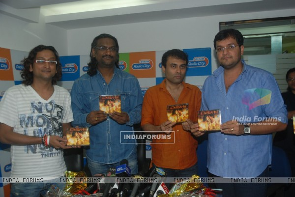 Agneepath film music launch at Radio City Office in Mumbai