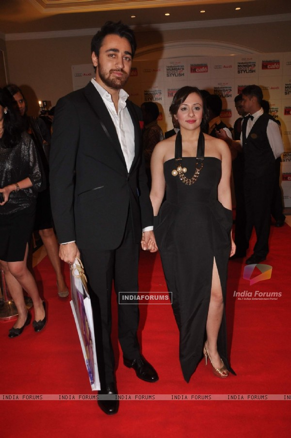 Imran Khan and Avantika grace HT Mumbai's Most Stylist 2011