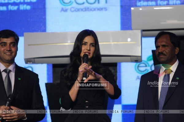 Katrina Kaif launches Econ Air Conditioners by Panasonic at Hotel Renaissance in Powai, Mumbai