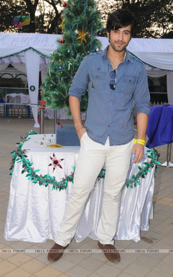 Karanvir Sharma At the Race Course promoting Sadda Adda