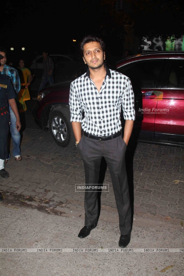 Ritesh Deshmukh grace Jacky Bhagnani's Birthday Party