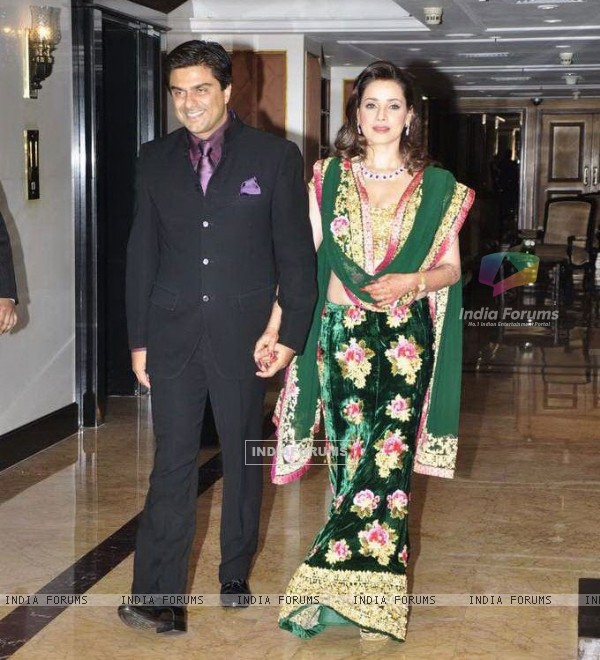 Sameer Soni and Neelam at their Wedding Reception