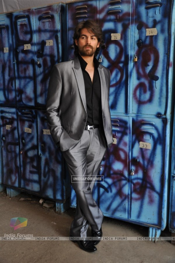 Neil Nitin Mukesh on the sets of Bigg Boss Season 5
