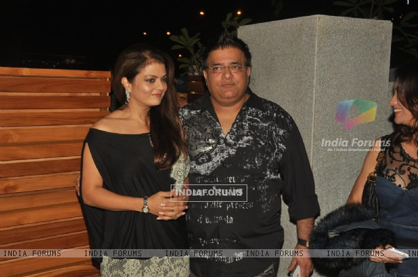 Sheeba Akashdeep at launch of Mohini's new restaurant Mangiamo