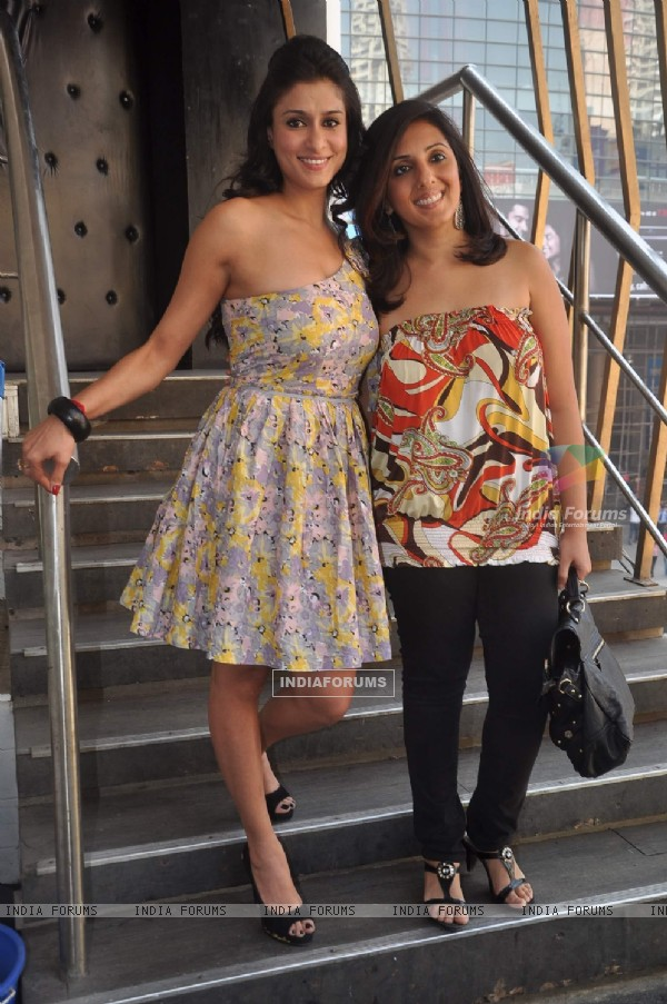 "Munisha Khatwani and Shilpa Saklani Agnihotri during ""Survivor"" bash in Tryst, Mumbai"