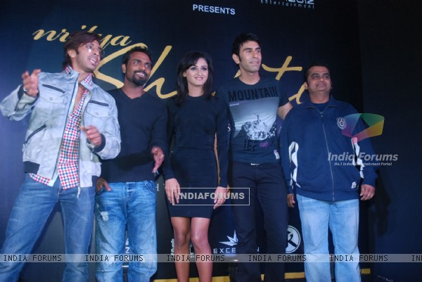 "Terence Lewis, Remo Dsouza and Sandeep grace Zee's ""Dance India Dance"" bash by Shakti Mohan"