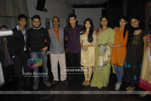 "Serial ""Tum Dena Saath Mera"" bash at Andheri East"