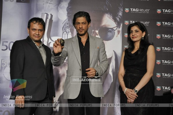 Shah Rukh Khan launches Don 2 Tag Heur Watches at Cinemax