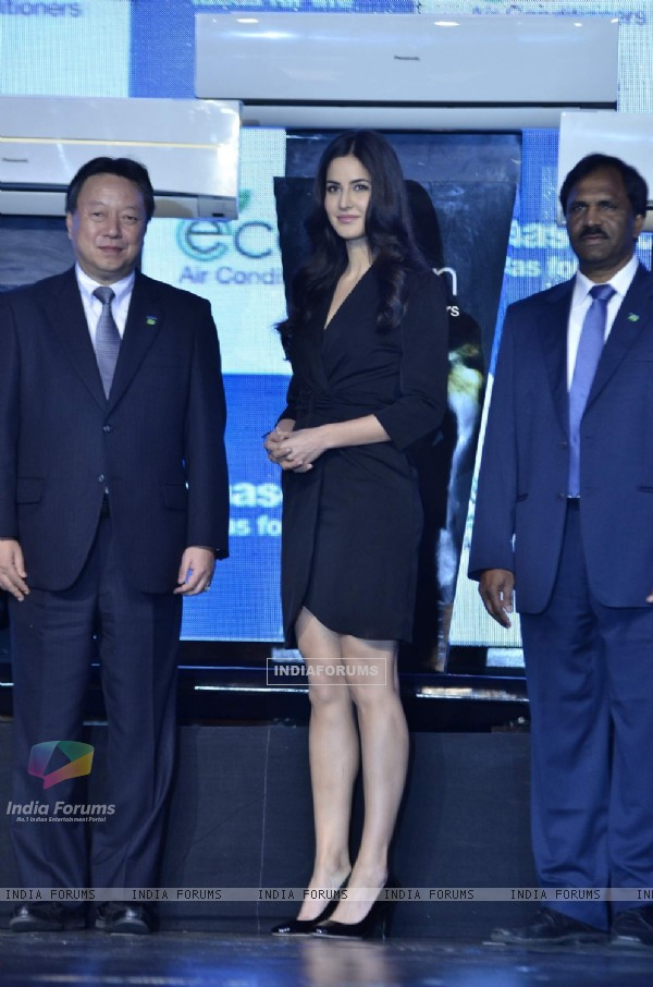 Katrina Kaif at the launch of Panasonic new ACs at Renaissance Powai