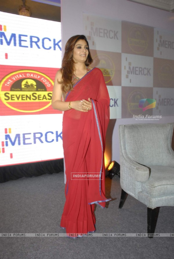 Raveena Tandon at Seven Seas press meet at Taj Hotel