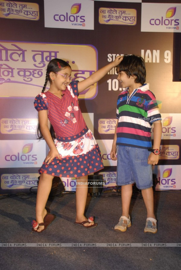 "Colors launches new show ""Na Bole Tum Na Maine Kuch Kaha"" in Vie Lounge"
