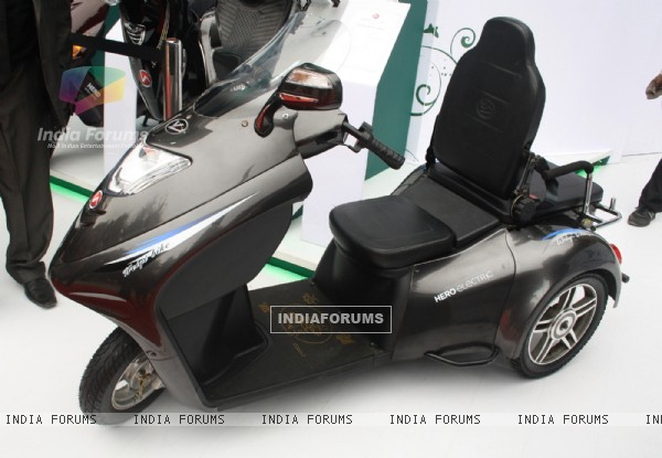 Special ability vehicle HERO electric, at Auto Expo 2012 in New Delhi
