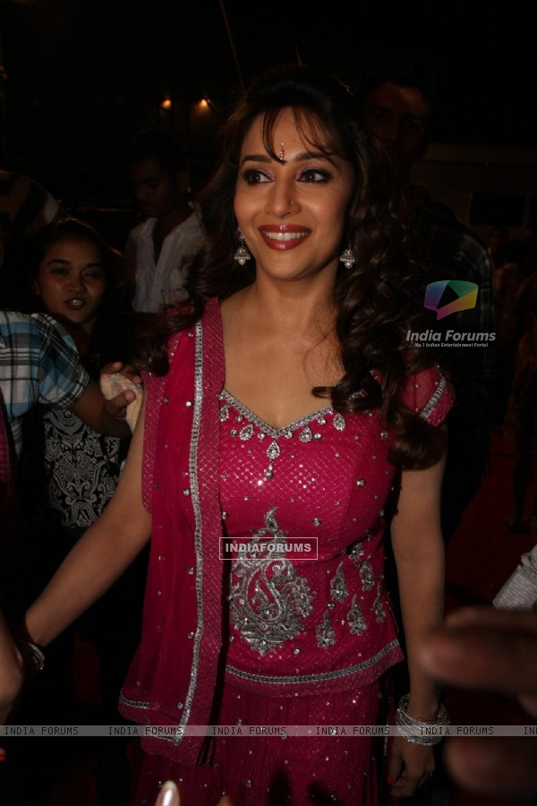 Madhuri Dixit at Police event Umang-2012