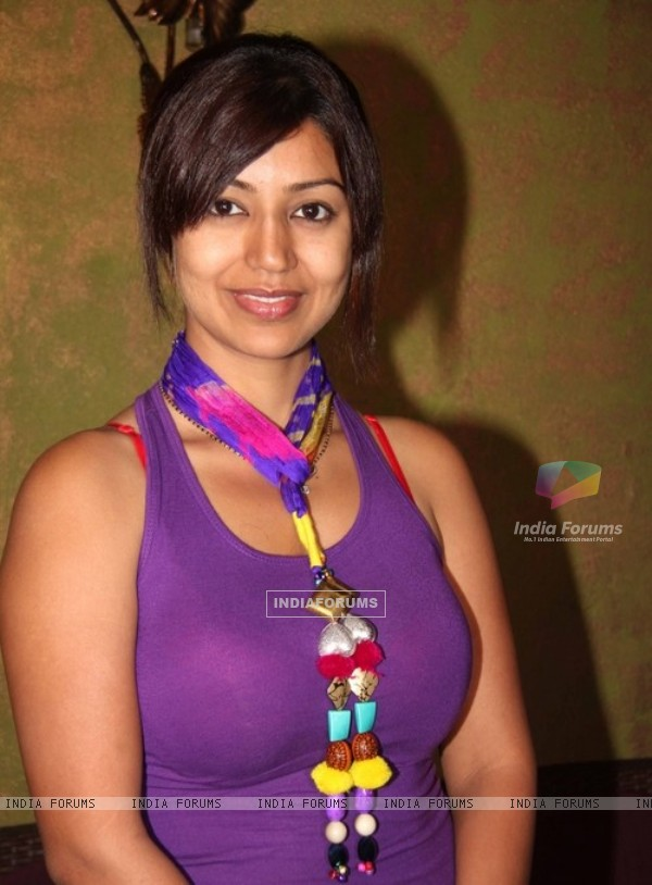 Debina Bonnerjee in the launch party of Chidiya Ghar