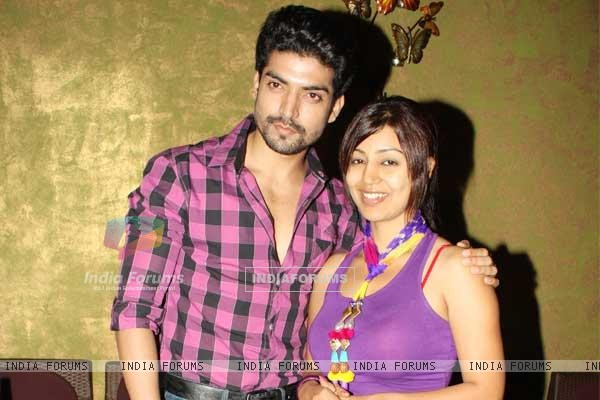 Gurmeet and Debina at the launch party of Chidiya Ghar