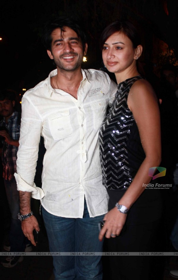 Gauri and Hiten Tejwani grace Dabboo Ratnani's Calendar launch 2012 at Bandra in Mumbai