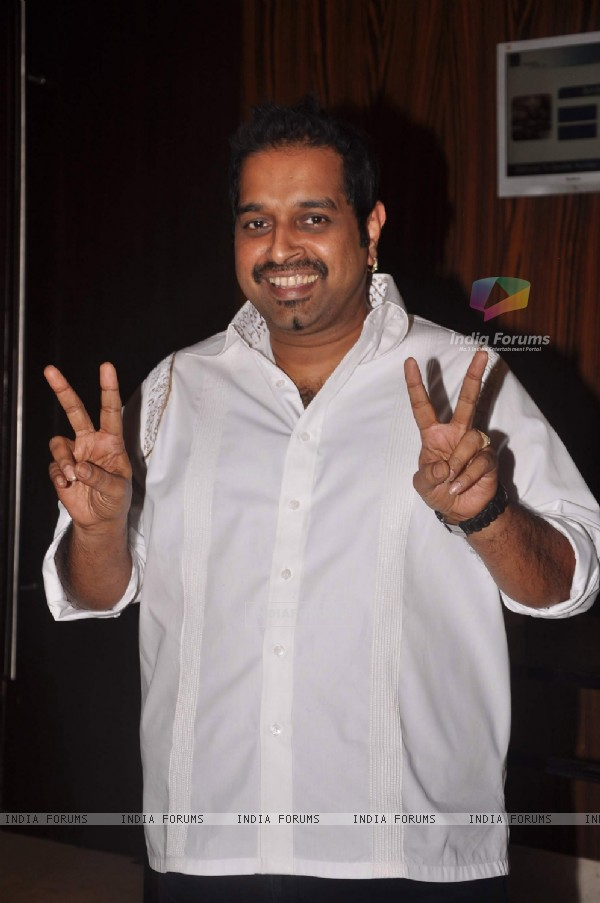 "Shankar Mahadevan during the release of Kailash Kher's new album ""Kailasha Rangeele"" in Mumbai"