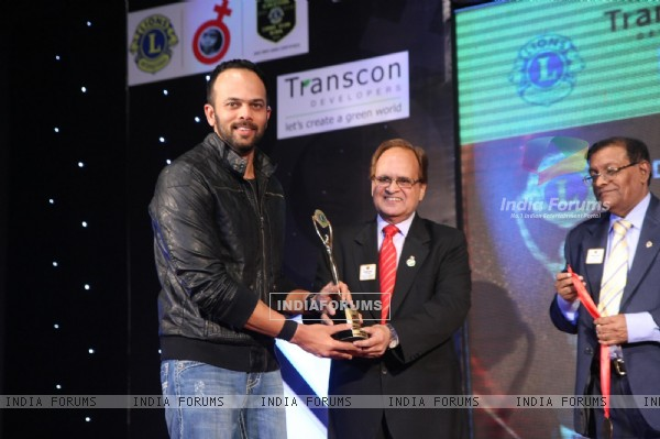 Rohit Shetty at 18th LIONS GOLD AWARDS at Bhaidas Hall in Mumbai
