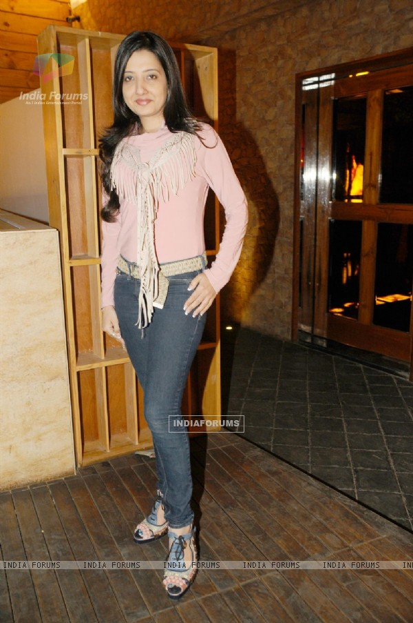 Amy Billimoria at Sandip Soparkar show 'Ageless Dance' at Sheesha Lounge in Andheri, Mumbai