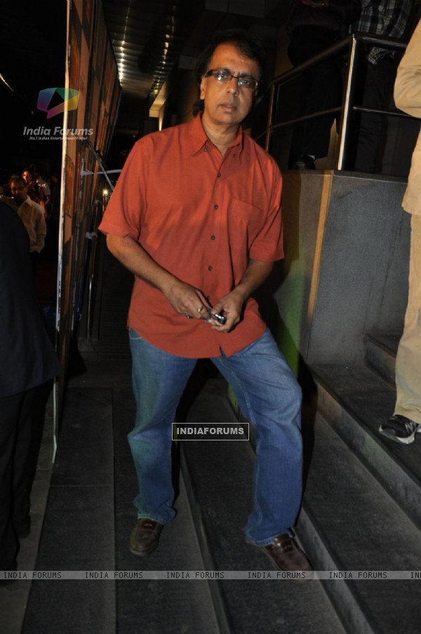 "Anant Mahadevan at Premiere of film ""Chaalis Chauraasi"" in Cinemax, Mumbai"